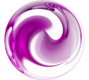 Purple Abstract Background Stock Image