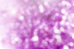 Purple abstract background with bokeh Royalty Free Stock Images