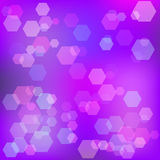 Purple abstract background with bokeh. Raster Royalty Free Stock Images