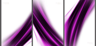 Purple Abstract background collection. Purple Abstract background high technology collection stock illustration