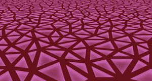 Purple Abstract background formed by triangles with interior lighting. 3d illustration royalty free illustration