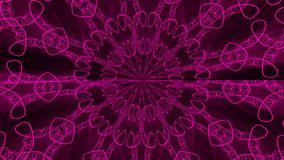 Purple abstract background. Kaleidoscope backdrop. 3d rendering Stock Image