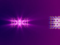 Purple abstract background, lines and light. Form Stock Photos