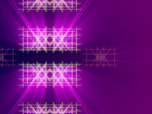Purple abstract background, lines and light. Form Royalty Free Stock Images