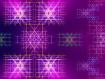 Purple abstract background, lines and light. Form royalty free illustration