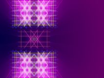 Purple abstract background, lines and light. Form Stock Photo