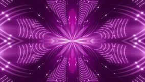 Purple abstract background, motion light and particles, loop. Purple abstract background, motion light and particles, kaleidoscope, loop stock video footage