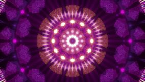 Purple abstract background, motion light and particles, loop. Purple abstract background, motion light and particles, kaleidoscope, loop stock video