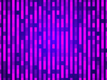 Purple abstract background, particles rectangles Stock Image