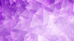 Purple abstract background of small triangles Royalty Free Stock Photo