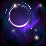 Purple abstract background with stars Royalty Free Stock Photos