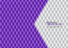 Purple abstract background vector illustration, cover template layout, business flyer, Leather texture. Luxury can be used in annual report cover design, book Royalty Free Stock Photography