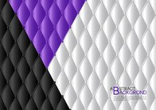 Purple abstract background vector illustration, cover template layout, business flyer, Leather texture. Luxury can be used in annual report cover design, book Stock Image