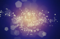 Purple Abstract Background With Bokeh Effect Stock Images