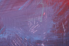 Purple abstract brush picture Stock Photos
