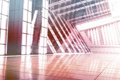 Free Purple Abstract Building Wallpaper Stock Photo - 6869260