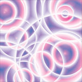 Purple abstract circles background Stock Photo