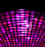 Purple abstract creative background Royalty Free Stock Image
