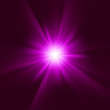 Purple abstract explosion. EPS 8 Stock Photography