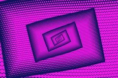 Purple Abstract futuristic kaleidoscope background pattern. Dott Royalty Free Stock Photography
