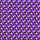 Purple abstract geometric  Royalty Free Stock Photo