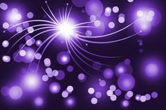 Purple abstract glowing background Royalty Free Stock Image