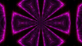 Purple abstract kaleidoscope background Stock Images