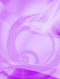 Purple Abstract Layout. A 3D abstract layout you can use as a template for any design piece Royalty Free Stock Photo