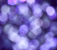 Purple Abstract Lights Royalty Free Stock Photos