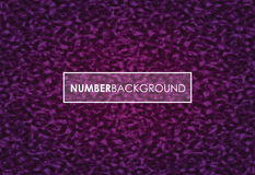 Purple abstract number background Royalty Free Stock Photo