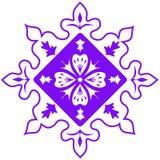 Purple abstract pattern. Vector illustration Stock Photos
