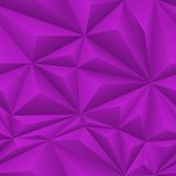 Purple Abstract Polygon Background Tile Stock Photo