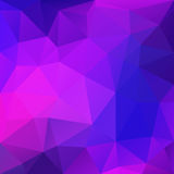 Purple Abstract Polygonal Background Royalty Free Stock Photos