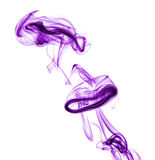 Purple abstract smoke Royalty Free Stock Image