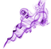 Purple abstract smoke Royalty Free Stock Photo