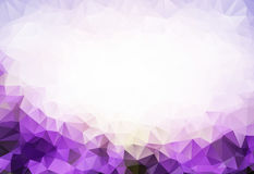 Purple Abstract Triangle Colorful Background. Creative Design Templates with space for your text Stock Photos