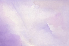 Purple abstract watercolor background Stock Photos