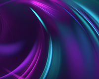 Purple abstract wave psychedelic background Stock Photos