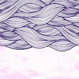 Purple abstract waves background Royalty Free Stock Image