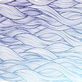 Purple abstract waves background Stock Image