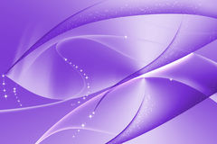 Purple abstract with wavy and curve background Stock Image