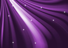 Purple abstract wavy and curve background Stock Photo