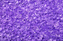 Purple acrylic ice scatters background Stock Image