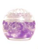 Purple air freshener. Studio cutout royalty free stock photos