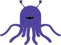 Purple Alien Royalty Free Stock Photos