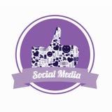 Purple als Royalty-vrije Stock Afbeelding