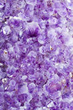Purple amethyst Stock Image