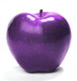 Purple apple Royalty Free Stock Photography
