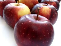 Purple apples Stock Photo