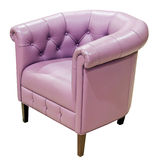 Purple armchair Royalty Free Stock Photos